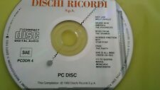 COMPILATION - PROMO RICORDI FOR RADIO (WILLY DEVILLE FREE ...) CD