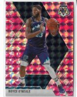 2019-20 Panini Mosaic basketball Pink Camo Parallel #53 Royce O'neale