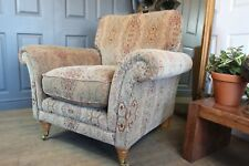 Parker knoll armchair beautiful fabric still selling £1150 new Great condition