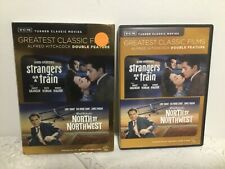 Alfred Hitchcock Strangers On A Train & North By Northwest Dvd Movie Set 2-Disc