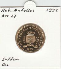 Netherlands Antilles 1 gulden 1992 BU - KM37