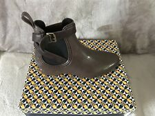 Womens Free Fish Brown Synthetic Buckle Ankle Boots Wellies Size 5 New In Box