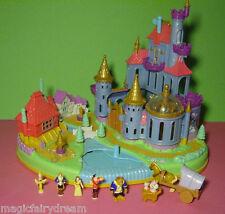 Polly Pocket Mini ♥ Castello Disney ♥ la bella e la belva ♥ 100% COMPLETO ♥
