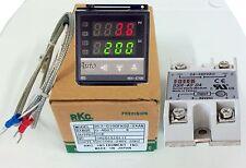 Termoregolatore TERMOSTATO + SONDA,controllo Temperatura da 0°a 400° V.100-240