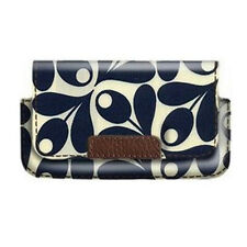 Orla Kiely Wallet/Flip Case Pouch Cover for iPhone 4 / 4S and iPhone 5 - Acorn