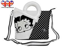 Betty Boop Handbag,Brand,Rhinestones  Shoulder Bag,W/DIE Cut Handles(RRP:£27.99)