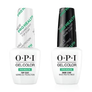 OPI Gel Color Pro Health Top and Base Coat / COLOURS