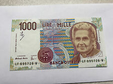 1990 Italy 1000 Lire Notes XF Ink Mark #5069