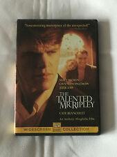 The Talented Mr. Ripley - 2000 Dvd - Matt Damon, Gwynneth Paltrow