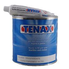 Tenax mastice Trasparente fluido  per incollare marmo granito Ml.750