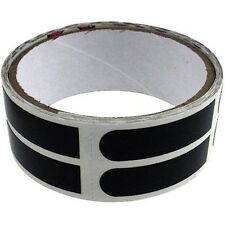 "Brunswick 1/2 "" Black Smooth Bowlers Bowling Ball Thumb Tape Pack Roll 100 Ct"