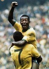 Pele Brazil 1970 World Cup Winner Stunning 10x8 Photo