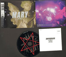 SUPERGRASS MARY 3track NEW CD SINGLE Peel LIVE CDSingle Pumping on your Stereo