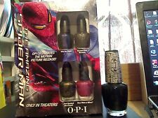 OPI THE AMAZING SPIDER-MAN SET OF 4 MINI POLISH BONUS FULL SIZE SHIPS TODAY