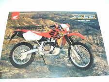 HONDA XR650R  SALES BROCHURE