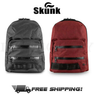 Skunk MINI Backpack Smell Proof Odor Proof Stash Bag w/ Combo Lock Carbon Lined