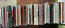 Lot of ~100 USED CDs - home collection - greatest hits / wide variety / pics