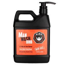 Gibs Man Wash BHB Beard Hair & Body Wash 33.8 oz