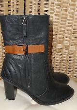 Clarks High Heel (3-4.5 in.) Block Casual Boots for Women