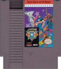 Captain America And The Avengers - Rare NES Nintendo