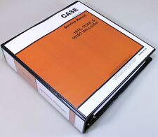 CASE 1816 1816B 1816C UNI-LOADERS SERVICE TECHNICAL MANUAL REPAIR SHOP IN BINDER
