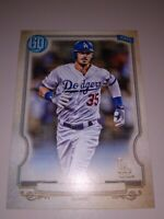 CODY BELLINGEE 2020 topps Gyspy Queen No Name Plate Insert Variation LA Dogers