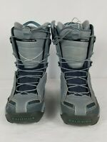 Salomon Optima Women's Snowboard Boots Gray and Blue Size 6