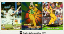 Topps Set Cricket Trading Cards