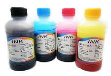 4 x 200ml Recarga de Tinta para Impresora de Inyeccion Hp Canon Lexmark Dell 531