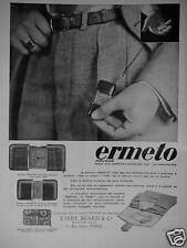 PUBLICITÉ 1930 ERMETO MOVADO MASTER REMONTOIR STANDARD - ADVERTISING