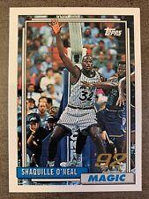 1992-93 1996 #362 Topps Reprint Shaquille O'Neal SUPER RARE!!! 32/50