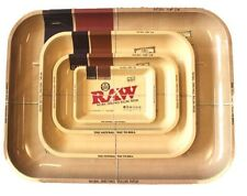 RAW Metal Rolling Collectors Trays, Small, Medium, Large and XL