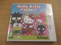 jeu nintendo 3 ds hello kitty picnic with sanrio characters (NEUF SOUS BLISTER)