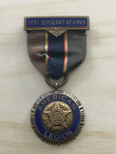 American Legion Old Style Sergeant At Arms Medal Ribbon