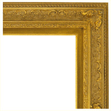 Italian Pale Gold Carve Frame 16X20