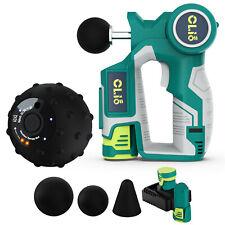 Clio PORTABLE MASSAGE GUN + VIBRATING MASSAGE BALL with warranty!