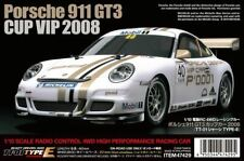 Tamiya - 1/10 RC Porsche 911 GT3 Cup VIP2008 Kit, with TT-01 Type-3 Chassis