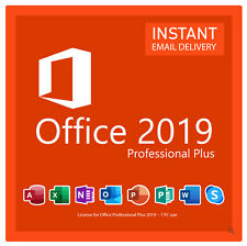 More details for new microsoft office professional plus 2019  lifetime license, no monthly fees