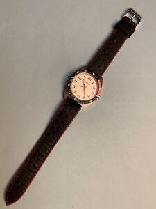 Rare 1977 Bulova Caravelle Submariner Type Diver Men's Watch. Pepsi Ring..works