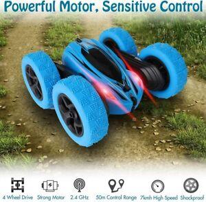 360° Kinder Elektrisch RC Stunt Car 2.4G 4WD Ferngesteuertes Auto Off Road Toy