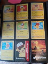 Pikachu I Choose You Movie Promos - Complete Set - 6 cards - SM109-114 + SM108