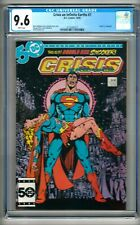 """Crisis on Infinite Earths #7 (1985) CGC 9.6  White Pages Perez   """"Supergirl"""""""
