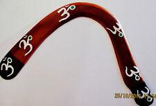 BOOMERANG  HOOKA TAILLE  40CM     PORTEE 50 M  +16 ANS (artisan createur)