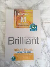 Brilliant Supreme Matte A4 Photo Paper - 100 sheets