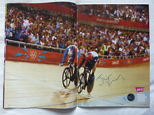 Official London 2012 Jason Kenny Signed Day 11 Olympic Venue Programme *Limited*