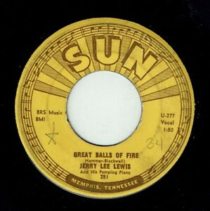 JERRY LEE LEWIS * Great Balls Of Fire * SUN US Orig. * Rock'n'Roll * MP3