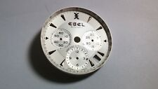 Ebel Dial Automatic Chrono silver/rose gold Swiss Made Tachymetre 30.01mm outter