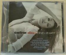 "ONE HEART by CELINE DION (CD, Mar-2003 - Sony Music - USA) BRAND NEW ""SEALED"""