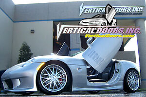 Direct Bolt On Vertical Lambo Doors Hinges Kit With Warranty VDCPONSOL0610