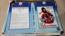 Jaquette Vidéo VHS Vintage Original Vidéo Club - THE YOUNG MASTER